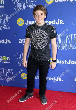 """Sean Ryan Fox attends Just Jared Jr.'s Fall Fun Day celebrating Season 2 of Amazon Prime's """"Gortimer Gibbon's Life on Normal Street"""", in Los Angeles"""