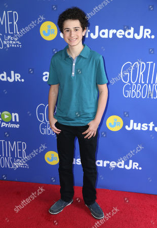 """David Bloom attends Just Jared Jr.'s Fall Fun Day celebrating Season 2 of Amazon Prime's """"Gortimer Gibbon's Life on Normal Street"""", in Los Angeles"""