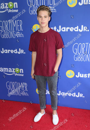 "Ryan Beatty attends Just Jared Jr.'s Fall Fun Day celebrating Season 2 of Amazon Prime's ""Gortimer Gibbon's Life on Normal Street"", in Los Angeles"