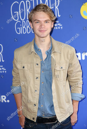 "Stock Image of Kenton Duty attends Just Jared Jr.'s Fall Fun Day celebrating Season 2 of Amazon Prime's ""Gortimer Gibbon's Life on Normal Street"", in Los Angeles"