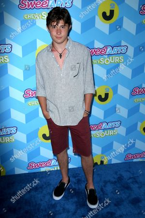Mateus Ward attends the Just Jared Summer Party, in Los Angeles, Calif