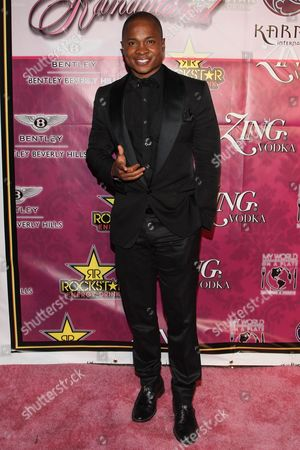 Actor Sam Jones III arrives at Kandyland 2013: A Decade of Decadent Dreams on in Beverly Hills, Calif