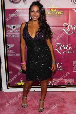 Actress Nadia Dawn arrives at Kandyland 2013: A Decade of Decadent Dreams on in Beverly Hills, Calif