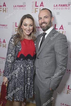 Event Chair Blair Rich and Zev Foreman seen at LA Family Housing 2016 Annual Awards, in Los Angeles