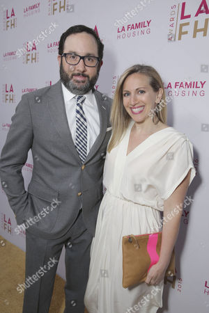 P. J. Byrne and Jaime Nicole Padula seen at LA Family Housing 2016 Annual Awards, in Los Angeles