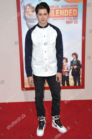 "Chris Galya arrives at the LA Premiere of ""Blended"" held at the TCL Chinese Theatre, in Los Angeles"