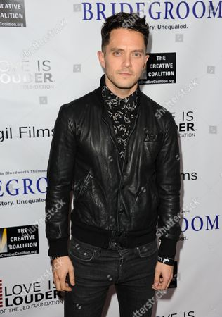 "Eli Lieb arrives at the Premiere of ""Bridegroom"" at The Samuel Goldwyn Theatre on in Beverly Hills, Calif"