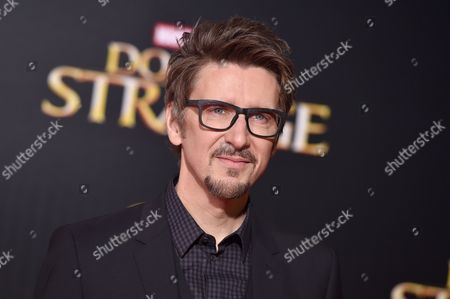 "Director Scott Derrickson arrives at the Los Angeles premiere of ""Doctor Strange"" at the TCL Chinese Theatre on"