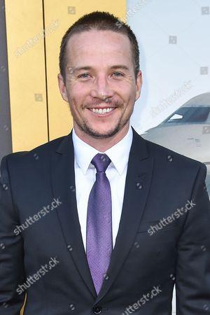 "Travis Aaron Wade arrives at the LA Premiere Of ""Entourage"" at the Regency Village Theatre, in Los Angeles"
