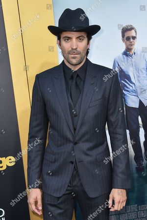 """Rhys Coiro arrives at the LA Premiere Of """"Entourage"""" at the Regency Village Theatre, in Los Angeles"""