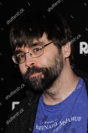 """Joe Hill arrives at the LA Premiere Of """"Horns"""", in Los Angeles"""