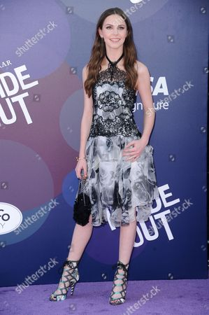 "Kaitlyn Dias arrives at the LA Premiere Of ""Inside Out"" held at the El Capitan Theatre, in Los Angeles"