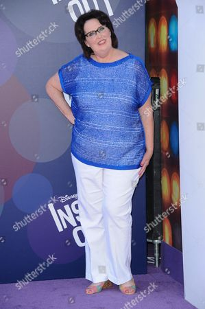 """Actress Phyllis Smith arrives at the LA Premiere Of """"Inside Out"""" held at the El Capitan Theatre, in Los Angeles"""