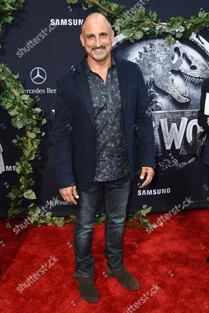 """Michael Papajohn arrives at the Los Angeles premiere of """"Jurassic World"""" at the Dolby Theatre on"""