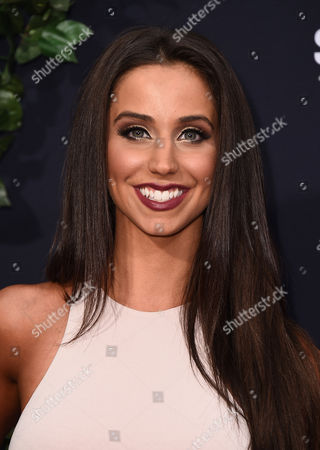 """Syd Wilder arrives at the Los Angeles premiere of """"Jurassic World"""" at the Dolby Theatre on"""