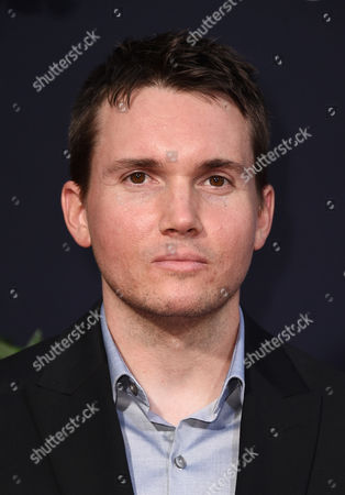 """Writer Derek Connolly arrives at the Los Angeles premiere of """"Jurassic World"""" at the Dolby Theatre on"""