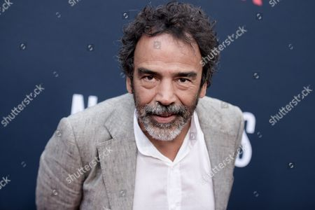 "Damian Alcazar attends the LA Premiere of ""Narcos"" Season Two held at ArcLight Cinemas Hollywood, in Los Angeles"