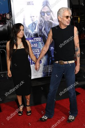 """Actor Billy Bob Thornton, left, and Connie Angland arrive at the LA Premiere of """"Our Brand is Crisis"""" held at the TCL Chinese Theatre, in Los Angeles"""