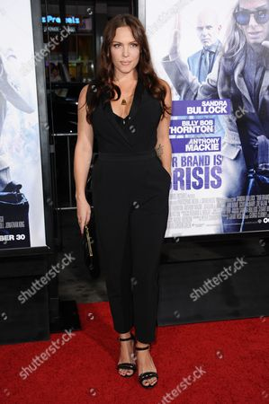 """Agnes Bruckner arrives at the LA Premiere of """"Our Brand is Crisis"""" held at the TCL Chinese Theatre, in Los Angeles"""