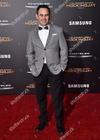 """Nelson Ascencio arrives at the Los Angeles premiere of """"The Hunger Games: Mockingjay - Part 2"""" at the Microsoft Theater on"""