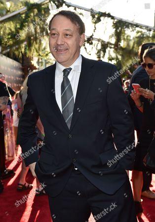 "Sam Raimi arrives at the premiere of ""The Jungle Book"" at the El Capitan Theatre, in Los Angeles"
