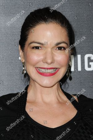"Laura Harring attends the LA Premiere of ""The Night Manager"" held at the DGA Theater, in Los Angeles"