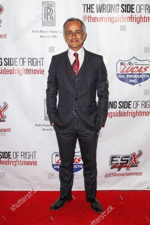 """Ali Afshar attends the premiere of """"The Wrong Side of Right"""" at the TCL Chinese Theater, in Los Angeles"""