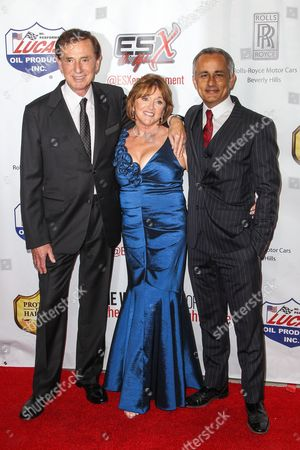 """Forrest Lucas, Charlotte Lucas, and Ali Afshar attend the premiere of """"The Wrong Side of Right"""" at the TCL Chinese Theater, in Los Angeles"""