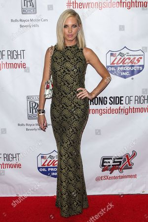 """Ashley Michaelsen attends the premiere of """"The Wrong Side of Right"""" at the TCL Chinese Theater, in Los Angeles"""