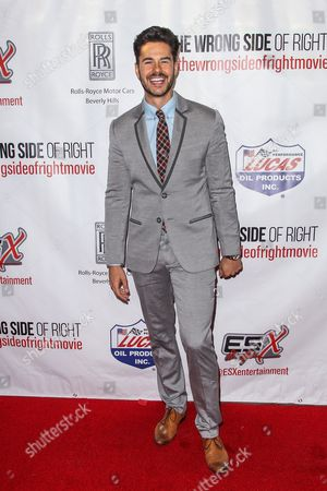 """Jayson Blair attends the premiere of """"The Wrong Side of Right"""" at the TCL Chinese Theater, in Los Angeles"""