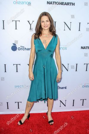Ele Keats attends the world premiere of 'UNITY' at the DGA Theater on in Los Angeles