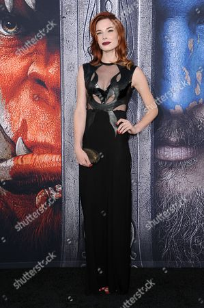 "Chloe Dykstra attends the LA Premiere of ""Warcraft"" held at the TCL Chinese Theatre, in Los Angeles"