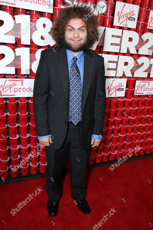 "Dustin Ybarra arrives at the LA premiere of ""21 and Over"" at the Westwood Village Theatre on in Los Angeles"