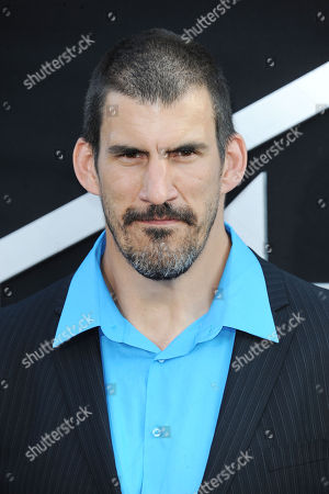 "Stock Image of Robert Maillet arrives at the LA premiere of ""Pacific Rim"" at the Dolby Theater on in Los Angeles"
