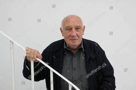 Editorial photo of Raymond Depardon at Henri Cartier-Bresson Foundation photographic exhibition, Paris, France - 12 Sep 2017