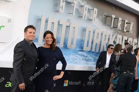 """Rod Roddenberry arrives at the LA premiere of """"Star Trek Into Darkness"""" at The Dolby Theater on in Los Angeles"""