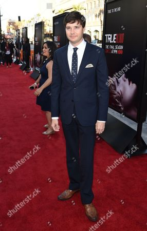 """Michael McMillian arrives at the Los Angeles premiere of the 7th and final season of """"True Blood"""" at the TCL Chinese Theatre on"""