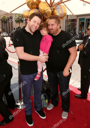 Bill Horn, Scout Masterson and daughter attend the LA premiere of The Oogieloves in The Big Balloon Adventure at Grauman's Chinese Theatre on in Los Angeles