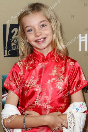 """Shree Grace Crooks attends the LA Premiere Screening of """"American Horror Story: Hotel"""" held at Regal Cinemas L.A. Live, in Los Angeles"""