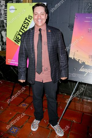 "Chris Bergoch arrives at the LA Special Screening of ""Tangerine"" at The Theater at Ace Hotel, in Los Angeles"