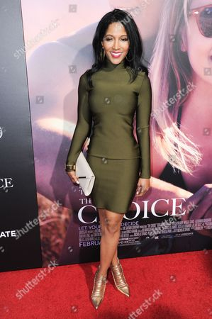 """Noree Victoria attends a special screening of """"The Choice"""" held at ArcLight Hollywood, in Los Angeles"""