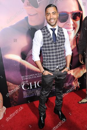 "Brad James attends a special screening of ""The Choice"" held at ArcLight Hollywood, in Los Angeles"