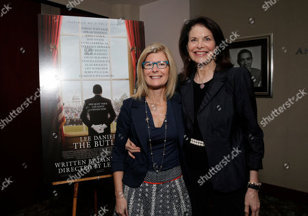 Pamela Williams and Sherry Lansing attend a Stand Up To Cancer hosted screening of Lee Daniels' The Butler to benefit the Laura Ziskin Prize, on in Los Angeles