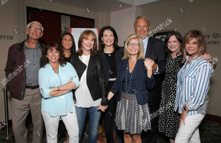 Dr Peter Jones, Sung Poblete, Sue Schwartz, Rusty Robertson, Sherry Lansing, Pamela Williams, Dr. Dennis Slamon, Lisa Paulsen and Kathleen Lobb attend a Stand Up To Cancer hosted screening of Lee Daniels' The Butler to benefit the Laura Ziskin Prize, on in Los Angeles