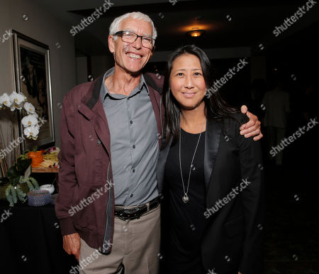 Dr. Peter Jones and Sung Poblete attend a Stand Up To Cancer hosted screening of Lee Daniels' The Butler to benefit the Laura Ziskin Prize, on in Los Angeles