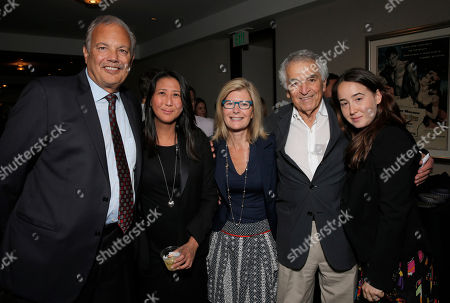 Dr. Dennis Slamon, Sung Poblete, Pamela Williams, Alvin Sargent and Julia Barry attend a Stand Up To Cancer hosted screening of Lee Daniels' The Butler to benefit the Laura Ziskin Prize, on in Los Angeles