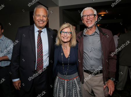 Dr. Dennis Slamon, Pamela Williams and Dr. Peter Jones attend a Stand Up To Cancer hosted screening of Lee Daniels' The Butler to benefit the Laura Ziskin Prize, on in Los Angeles