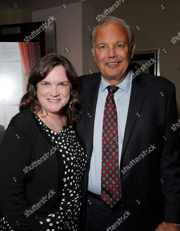 Kathleen Lobb and Dr. Dennis Slamon attend a Stand Up To Cancer hosted screening of Lee Daniels' The Butler to benefit the Laura Ziskin Prize, on in Los Angeles