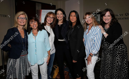 Pamela Williams, Sue Schwartz, Rusty Robertson, Sherry Lansing, Sung Poblete, Lisa Paulsen and Kathleen Lobb attend a Stand Up To Cancer hosted screening of Lee Daniels' The Butler to benefit the Laura Ziskin Prize, on in Los Angeles