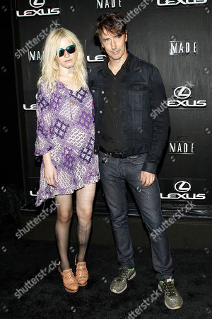 Liza Thorn and Richard Phillips are seen at Lexus Design Disrupted at Pier 36, in New York, NY